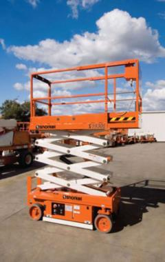 Rental store for Scissor Lift, 1930e Snorkel  2 in Fulton MO