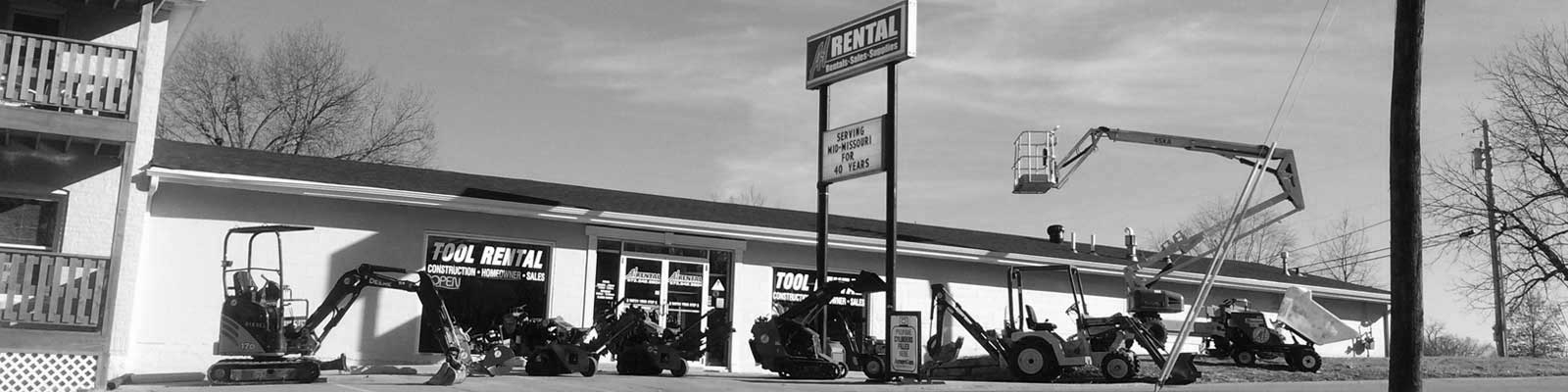 Tool rentals serving Mexico Missouri, Jefferson City, Fulton MO, Centralia, Ashland, Boonville, California